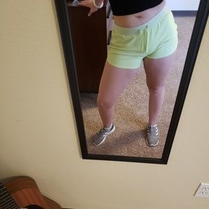 Neon Under Armour Shorts